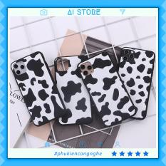 Ốp lưng iphone bò sữa nhiều mẫu điện thoại 6 6s 7 8 plus x xs xr 11 pro max se2 12 mini 12 pro max