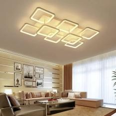 Đèn ốp trần MONSKY SINCHUN trang trí nội thất hiện đại, sang trọng với 3 chế độ ánh sáng.