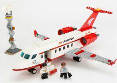 Bộ lắp ráp Gudi 8911 mô hình máy bay chở khách