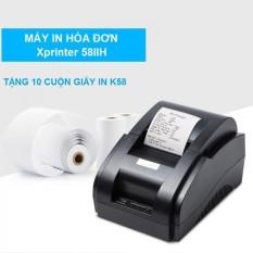 Máy In Hóa Đơn Xprinter 58IIH Khổ Giấy K58 Tặng Ngay 10 Cuộn Giấy In K58