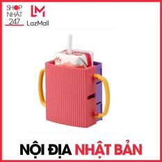 Giá đựng hộp sữa có quai cầm cho bé Inomata-Nội Địa Nhật Bản