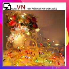 Dây Đèn Nháy Trang Trí Noel Và Tết Tự Động Đổi Màu (4.5M/ 1 Dây). Trang trí noel giáng sinh tết sinh nhật nhiều màu siêu đẹp siêu rẻ.