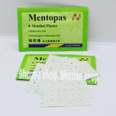 01 Gói Cao Dán MENTOPAS Neoplast Giảm Đau Nhức Thái Lan (1 Gói 10 miếng) – XANH NHẠT