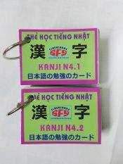 Thẻ học tiếng Nhật – Bộ 2 thẻ học Kanji N4 (Chữ Hán)