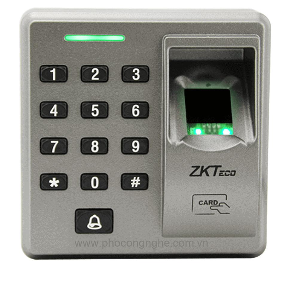 Đầu đọc vân tay kiểm soát vào ra cửa ZKTeco FR1300