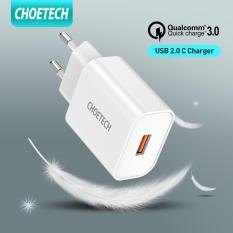 (Giá sốc) CHOETECH cục sạc nhanh QC 3.0, cục sạc dự phòng 18W MIRCO USB – INTL