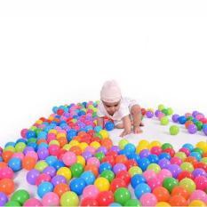 Combo 100 bóng nhựa mềm phi 5cm cho bé