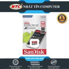 Thẻ nhớ MicroSDXC SanDisk Ultra A1 128GB Class 10 U1 100MB/s – No Adapter (Đỏ) – Nhất Tín Computer
