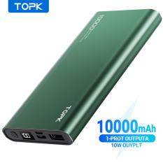 Sạc Dự Phòng TOPK I1006 / I1006P 10000mAh Sạc nhanh Hiển thị kỹ thuật số Pin dự phòng cho iPhone HUAWEI Samsung Xiaomi OPPO Vivo Realme
