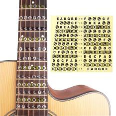 GUITAR Note sticker – MIẾNG DÁN ĐÁNH DẤU VỊ TRÍ NỐT NHẠC TRÊN ĐÀN GUITAR NOTE Decal DÀNH CHO NGƯỜI MỚI TẬP