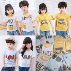 Combo 3 áo phông dành cho cả bé trai và bé gái [shop up kèm ảnh thật]