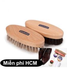 Sunzin.HCM Free từ 99k- Bàn chải đánh giày lông đuôi ngựa / làm sạch bề mặt giày/ bản chà giày /bàn chải đánh xi giày – SZ2611009