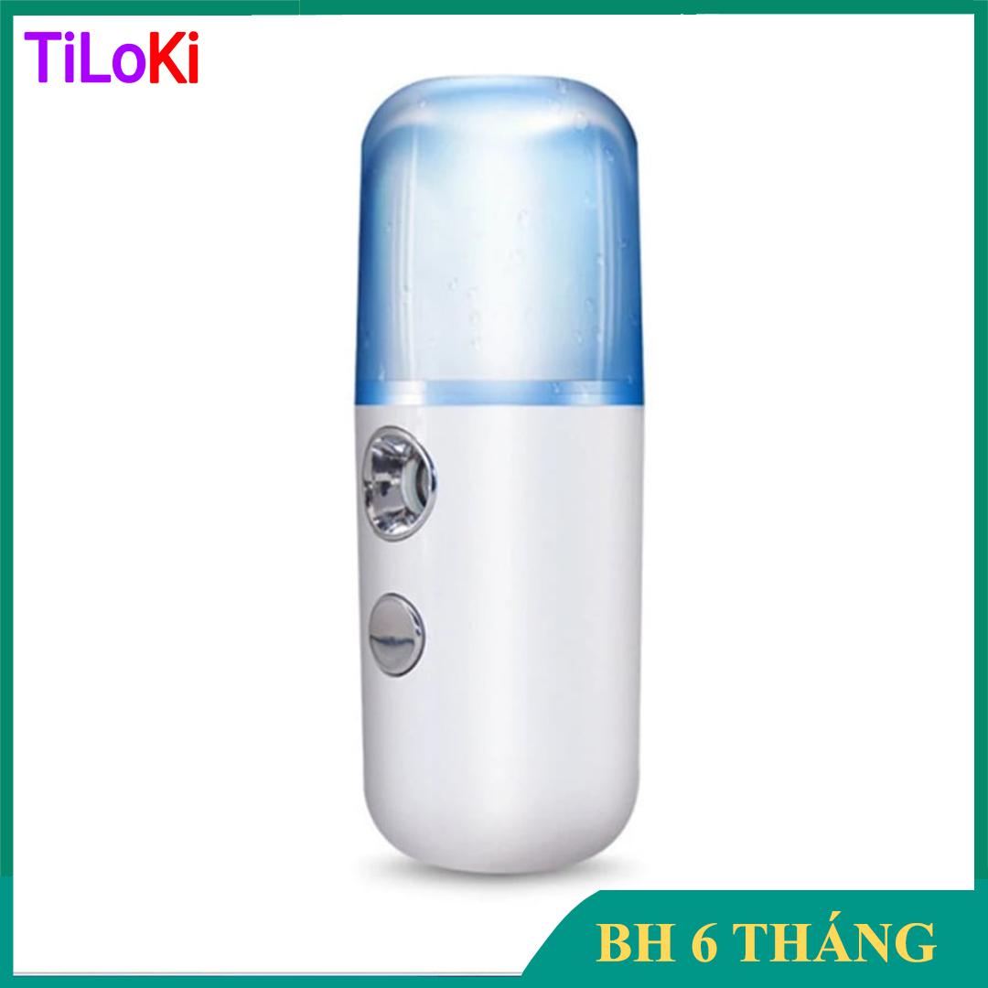 Máy phun sương xông hơi mặt làm đẹp da mini TPM.01 dung tích 30ml, chất liệu nhựa và hợp kim cao cấp, an toàn sức khỏe người sử dụng