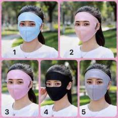 Combo 3 cái khẩu trang ninja che kín mặt chống tia UV cực tốt giá sỉ