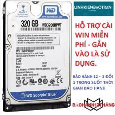 HDD LAPTOP 320GB – BẢO HÀNH 12 THÁNG