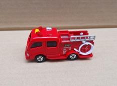 Xe mô hình Tomica – Thanh lý xe cứu hỏa màu đỏ bánh trắng giá rẻ