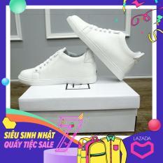 Giày nam sneaker – Giày thể thao-Giày nam tăng chiều cao ẩn (trắng)