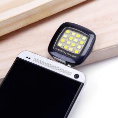 Đèn LED hỗ trợ chụp hình cho camera trước điện thoại (Hồng)