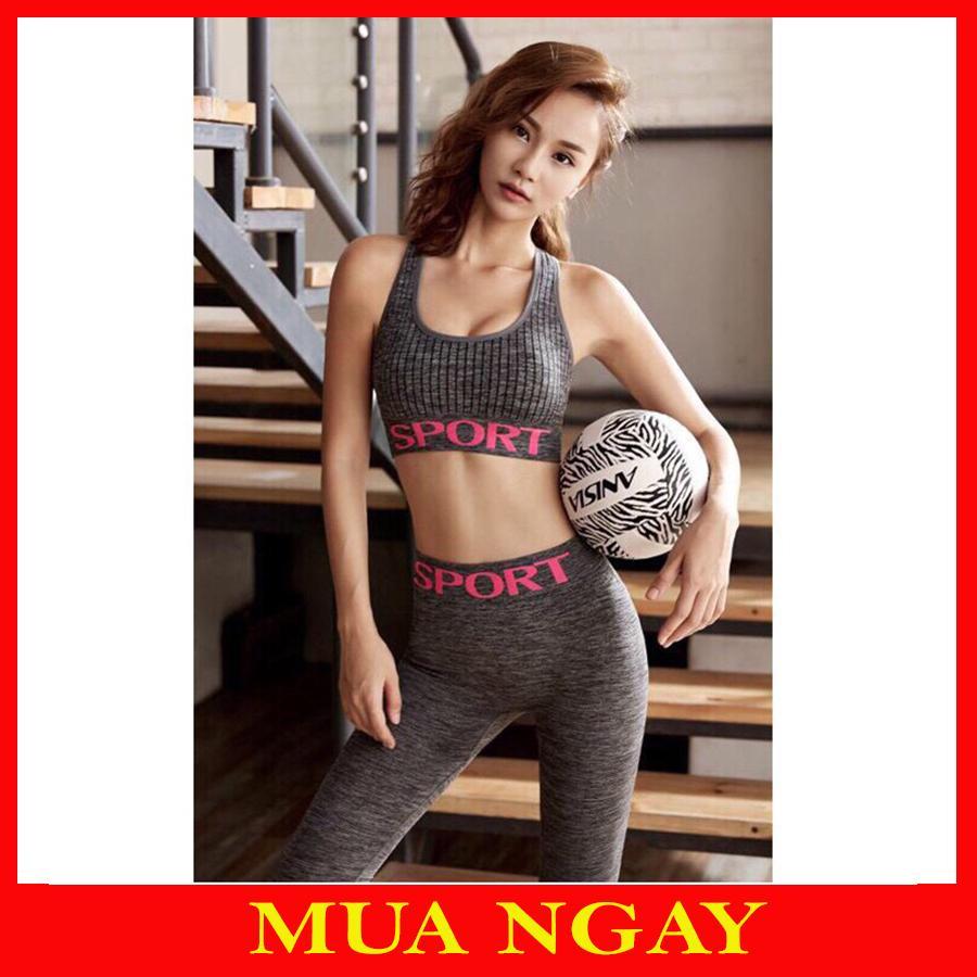 Bộ Đồ Tập Gym, Yoga Sport Nữ Cao Cấp SP02