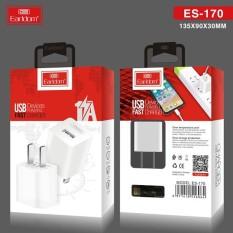 Củ Sạc Cốc Sạc Earldom ES-170 kèm dây sạc, dành cho Iphone, Samsung, Xiaomi, Oppo – Dòng Điện Chuẩn 5V-1A, Tránh Chai Pin, nhỏ gọn tiện lợi ( BẢO HÀNH TÍN 12 THÁNG)