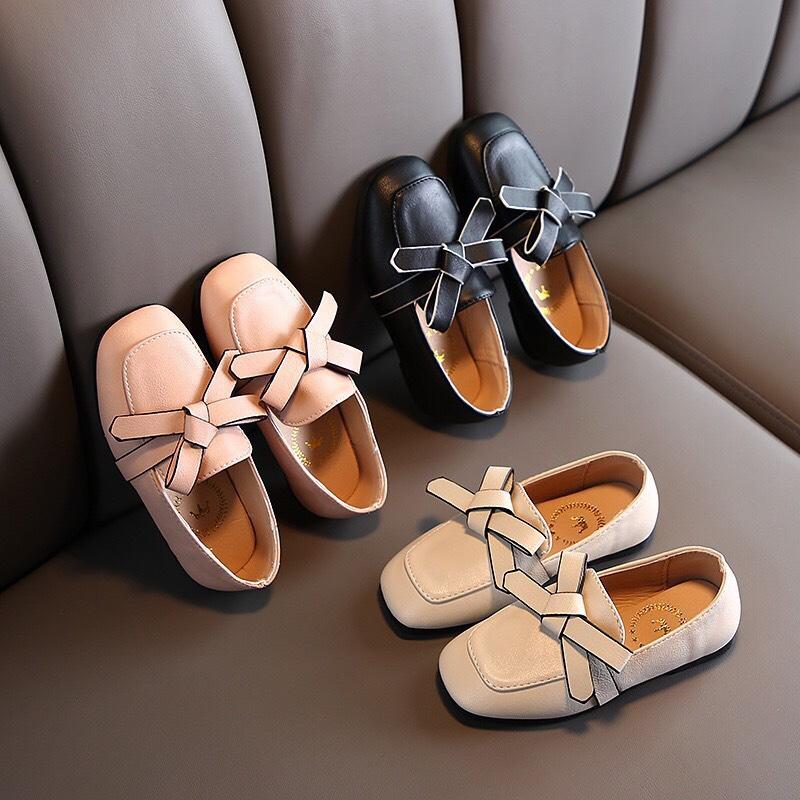 giày búp bê nơ bé gái