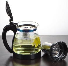 Bình Lọc Trà Kháng Vỡ 1300ml Sang Trọng – Model 8130 – Bình pha trà thông minh 1.3L / Ấm pha trà có lưới lọc Home Wares No8170