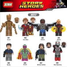 Đồ chơi lắp ráp Minifigure các nhân vật Marvel-Heroes X0217