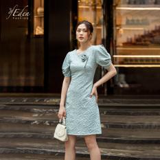 Đầm Suông Thời Trang Eden Phối Hoa 2 Lớp – D426