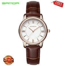Đồng hồ Sanda dây da tuyệt đẹp cho phái nữ P215