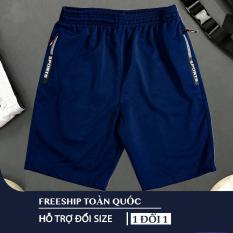 [Freeship – 04 Màu] Quần thể thao 2 túi kéo khoá vải thun lạnh dày đẹp 04 màu size từ 40-87kg-QSTT212