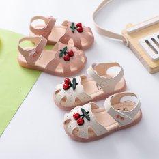 Sandal Bé Gái Chống Trơn Chống Vấp Hình Quả Cherry Đáng Yêu Từ 0 – 4 Tuổi ( B5 )