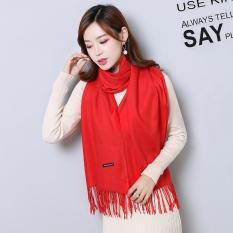 Khăn quàng cổ nam nữ chất len dạ Cashmere mềm mịn pha màu style Hàn Quốc khăn giữ ấm – có bán kèm khăn trơn Cashmere chất len dệt mịn giá rẻ