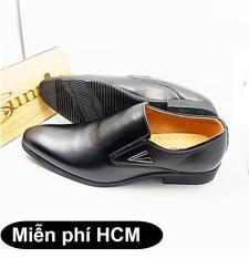 Sunzin.HCM Free 99k – Giày DA THẬT tăng chiều cao 6cm Sunzin 241C – Kiểu Giày công sở có dây đứng đắn cho nam giới- SZ1712001 / giày nam / giày da bò / giày công sở / giày có dây / giày dây cột
