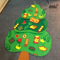 Cây quất vải dạ bóc dán trang trí tết 32 chi tiết cây quất vải