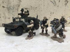 Mô hình Nhân vật Biệt đội lính Seal Mỹ 1:35