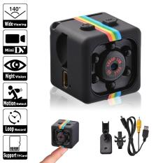 Camera Mini siêu nhỏ SQ11 Full HD1080P 2.0 hồng ngoại đen quay đêm hình ảnh sắc nét + chân đế xoay linh hoạt