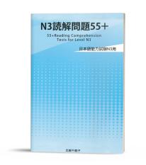 Sách N3 dokkai mondaishu 55+ (in màu)