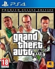 Đĩa game GTA V PS4