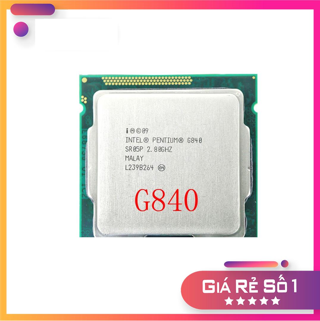 CPU Pentium G840 chạy main H61 (2.80 GHz, 3Mb)