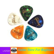 Bộ 5 cái phím Gibson 0.73mm phím đàn guitar – 5 pick guitar Gibson – màu sắc chọn ngẫu nhiên Pick cứng cho âm thanh đanh và chắc – Duy Guitar Store phụ kiện guitar giá tốt