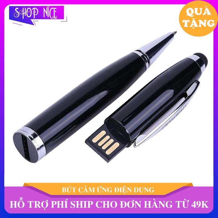 Bút cảm ứng cao cấp 3 trong 1 vừa là cây bút bi mực xanh văn phòng là cây bút cảm ứng là 1 usb kết hợp với nhau ShopNice – EL62