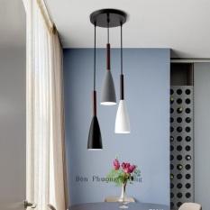 Đèn thả bàn ăn – đèn trang trí quán cafe – đèn thả trần trang trí – bộ ba đèn thả trang trí