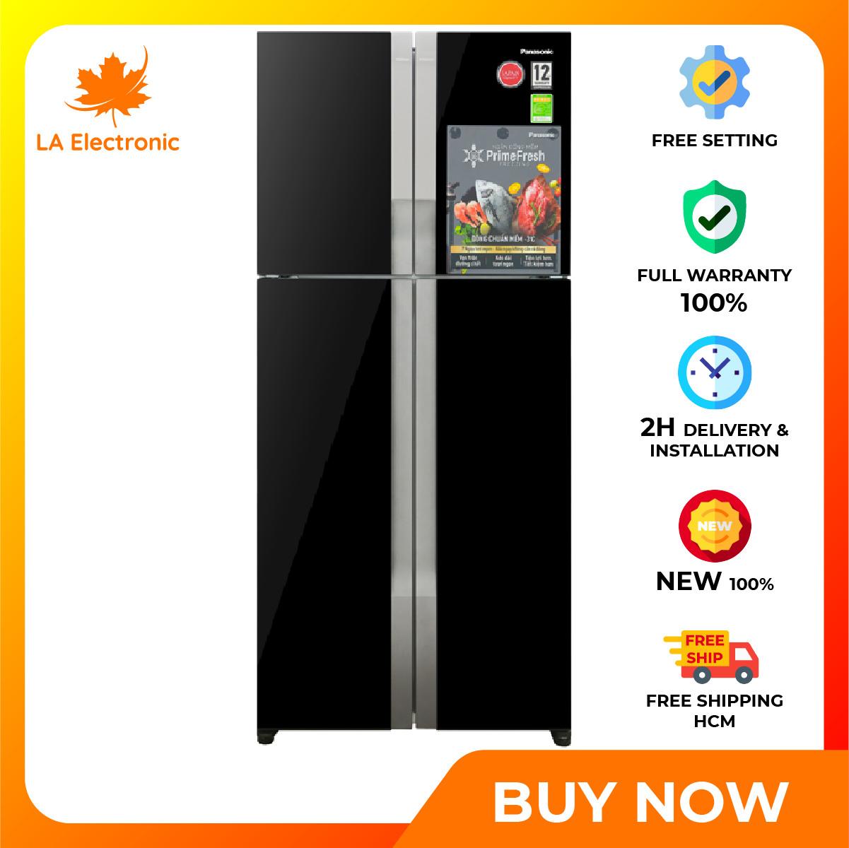 Trả Góp 0% – Panasonic Inverter 550 liter refrigerator NR-DZ600GKVN, thiết kế thông minh, công nghệ hiện đại, hoạt động mạnh mẽ và bền bỉ, có chế độ bảo hành và xuất xứ rõ ràng – Miễn phí vận chuyển HCM