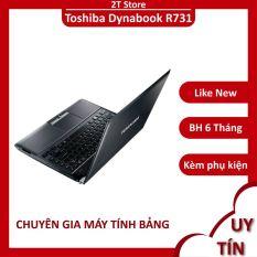 Laptop Toshiba Dynabook R731 siêu rẻ nhẹ chỉ 1.5KG chuyên văn phòng, chiến được liên minh