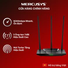 Bộ phát wifi xuyên tường độ lợi cao Mercusys MW330HP chuẩn N 300Mbps – Hãng phân phối chính thức
