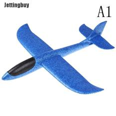 Máy Bay Lượn Bằng Tay Jettingbuy 42*44Cm, Đồ Chơi Quà Tặng Ngoài Trời Mô Hình Máy Bay Bọt Biển