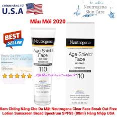 Kem Chống Nắng Neutrogena Age Shield Face SPF 110 88ml