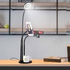 Bô- Đe-n LED Live Stream 3 In 1 Đa Năng Thiê-t Kê- Sô- 1 Cao cÂ-p Bê-n Đe-p (Xả Kho)