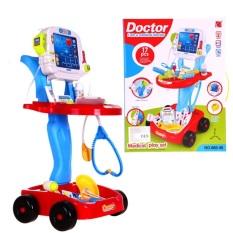 Đồ chơi bác sỹ xe đẩy cao cấp 660-46 – đồ chơi trẻ em, đồ chơi y tế, đồ chơi bác sĩ, đồ chơi nhập vai
