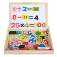Bảng ghép hình nam châm đồ chơi ghép hình học toán số và hình học